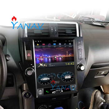 Tesla Style CAR Multimedia Player For-TOYOTA Land Cruiser Prado 2014-2016 car radio player Car Stereo Android Car GPS Navigation 9ips android 8 1 car radio stereo head unit for toyota land cruiser prado 120 lexus gx470 2004 2009 no cd player buit in dsp