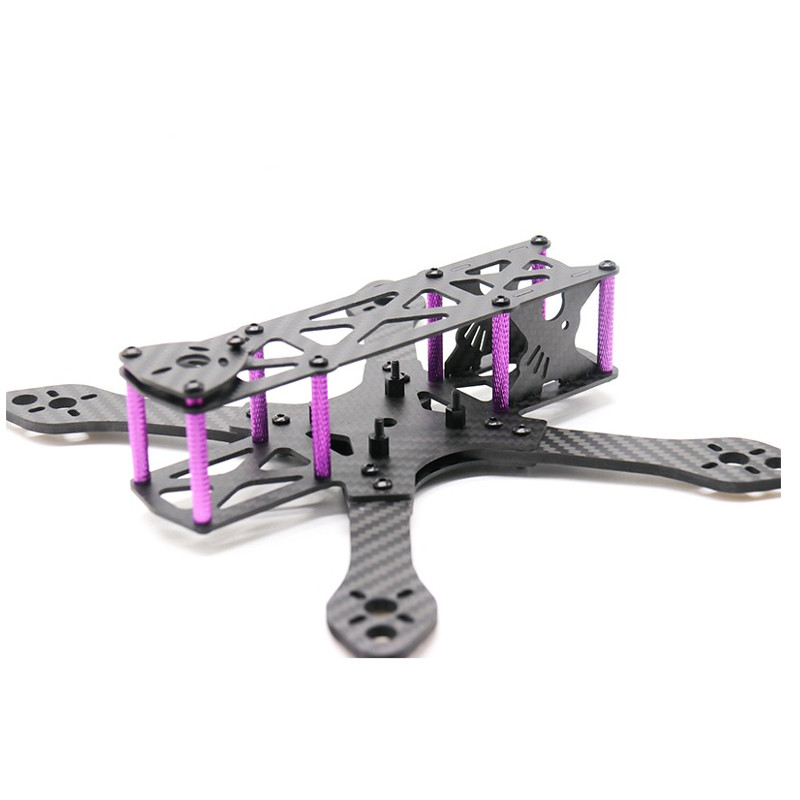 Martian 215 215mm Carbon Fiber  4mm Arm RC Drone FPV Racing Frame Kit 136g For RC Drone FPV Racing