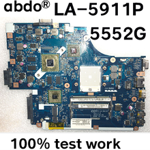 Placa base para portátil Acer aspire 5551, 5551G, 5552G, NEW75 LA-5911P, MBPUU02001, Tablero Principal, HD5650M, 1GB, CPU gratis