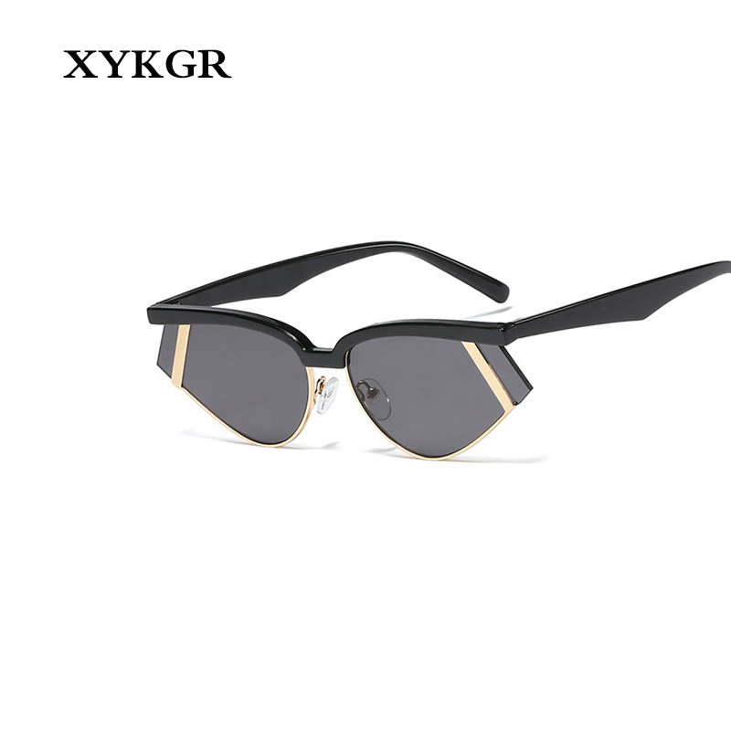 Sunglasses Trend Marine-Lens Small-Frame Retro New-Fashion UV400 XYKGR Personality