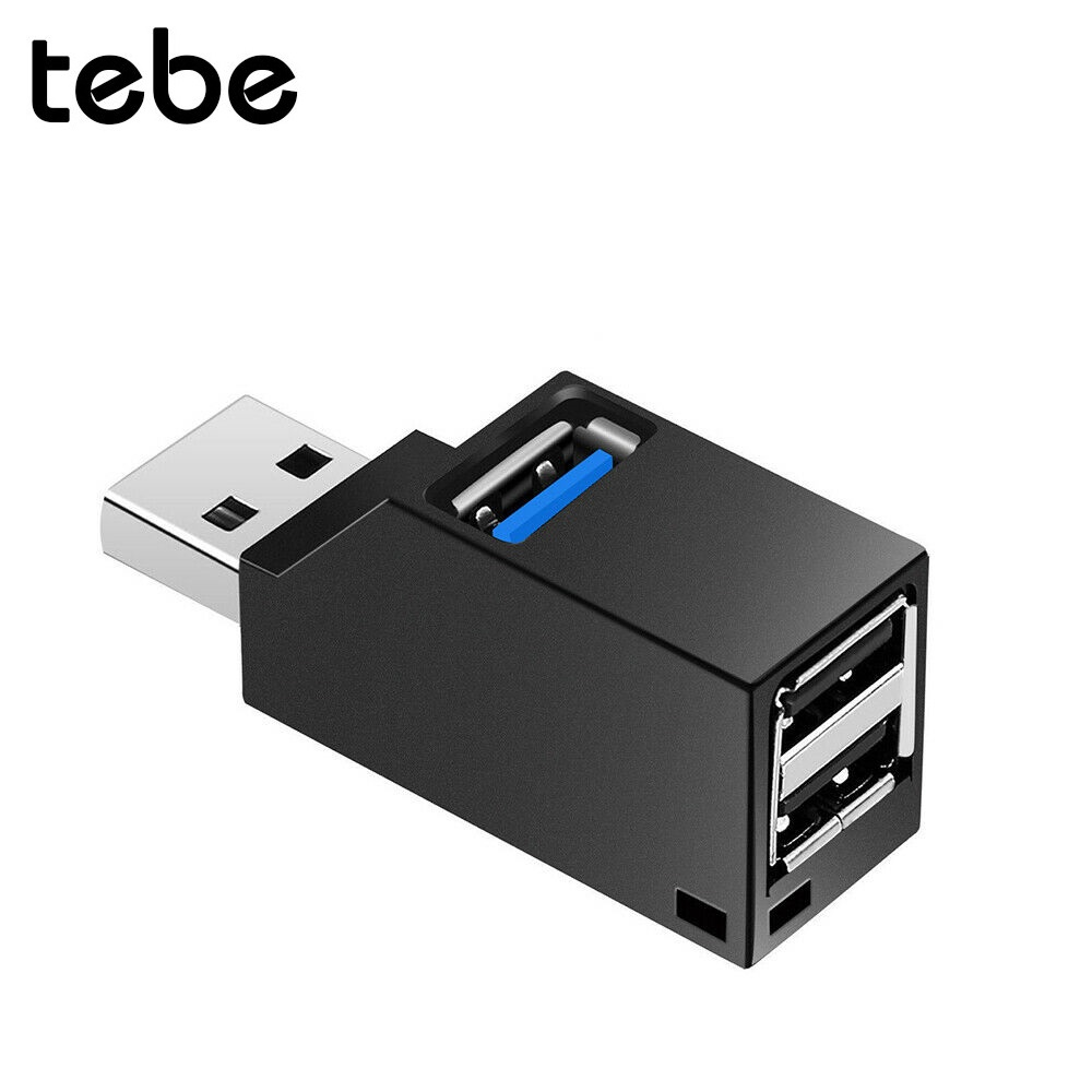 Tebe Hub-Splitter-Box Card-Reader Usb-Hub Laptop U-Disk Mini 8-X-Mobile-Phone 3-Port High-Speed