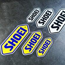 SHOEI-pegatinas reflectantes para casco de MOTO GP, calcomanías adhesivas para coche de carreras, accesorios para motocicleta