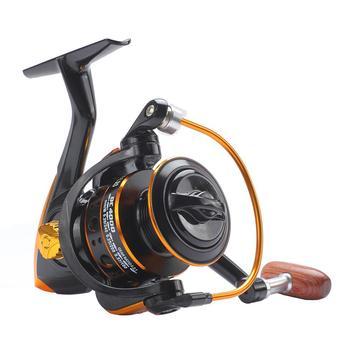 цена на 13BB Left/right hand for reel 80KG Max Drag full metal Fishing Wheel spinning fishing reel Saltwater Carp Boat Rock Fishing Reel