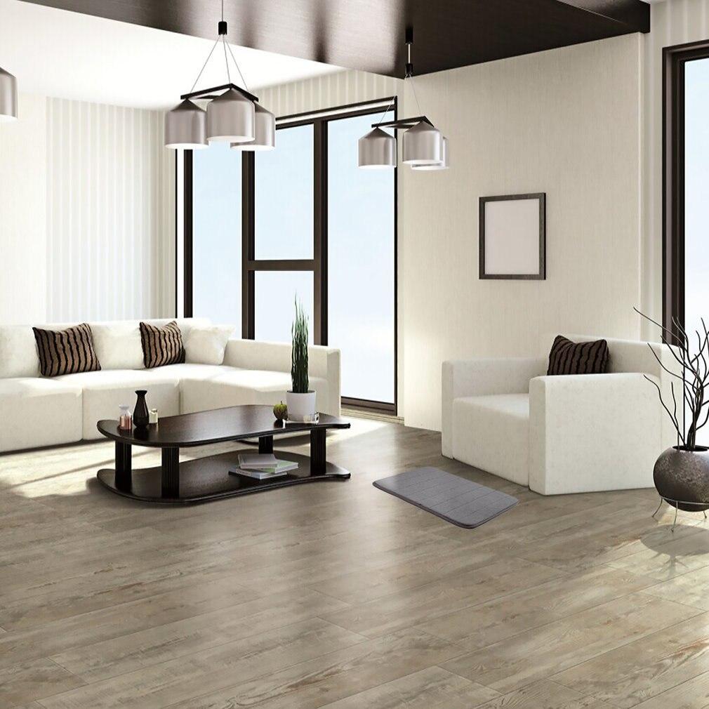 Vertical Grain Memory Cotton Carpet Soft Mat Home Bathroom Mat Powerful Anti-Skid Pad Quick Water Absorbent Mat 40x60CM