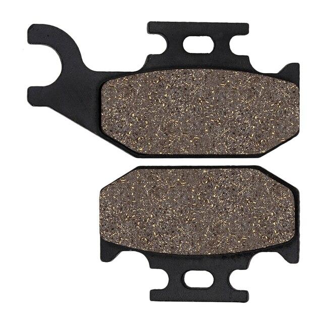 Cyleto Front Brake Pads for YAMAHA Raptor 700 YFM700 R 2006-2015 Rhino 700 YXR 700 Models//Steel Blue//4x4 2008-2013 Rhino 450 4x4 YXR//F 2004-2009
