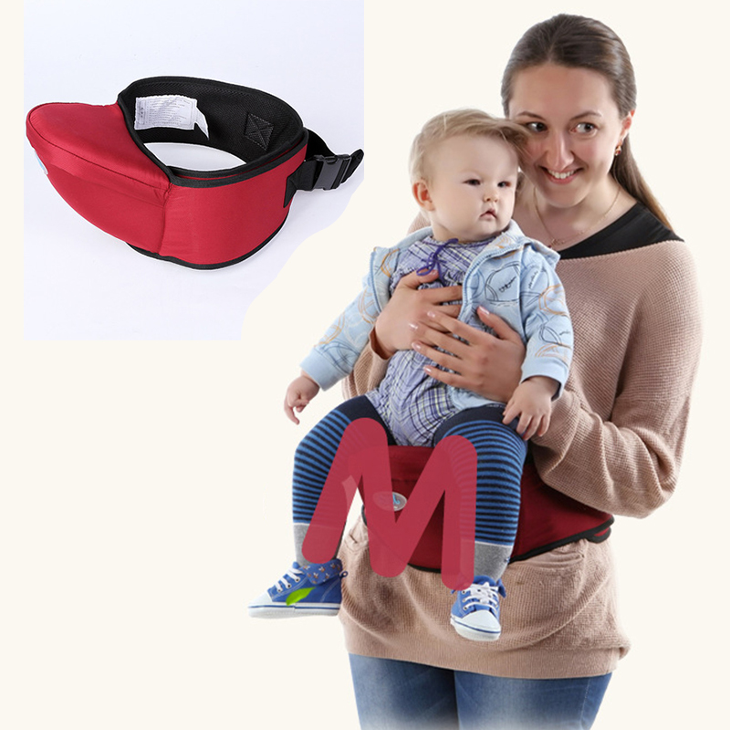 70-120CM Waist Belt Baby Carrier Waist Stool Walkers Red Baby Sling Hold Waist Belt Backpack Hipseat Belt Kids Infant Hip Seat