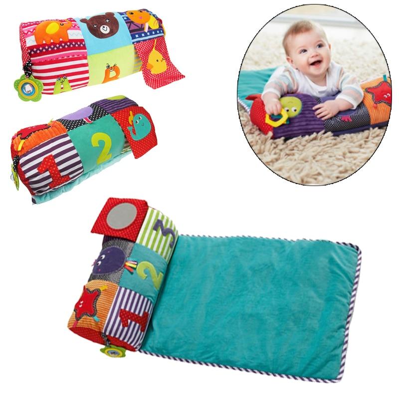 Doux bébé escalade tapis polyvalent jeu couverture enfant oreiller bébé tapis de jeu hochet dentition miroir jouet développement Puzzles tapis