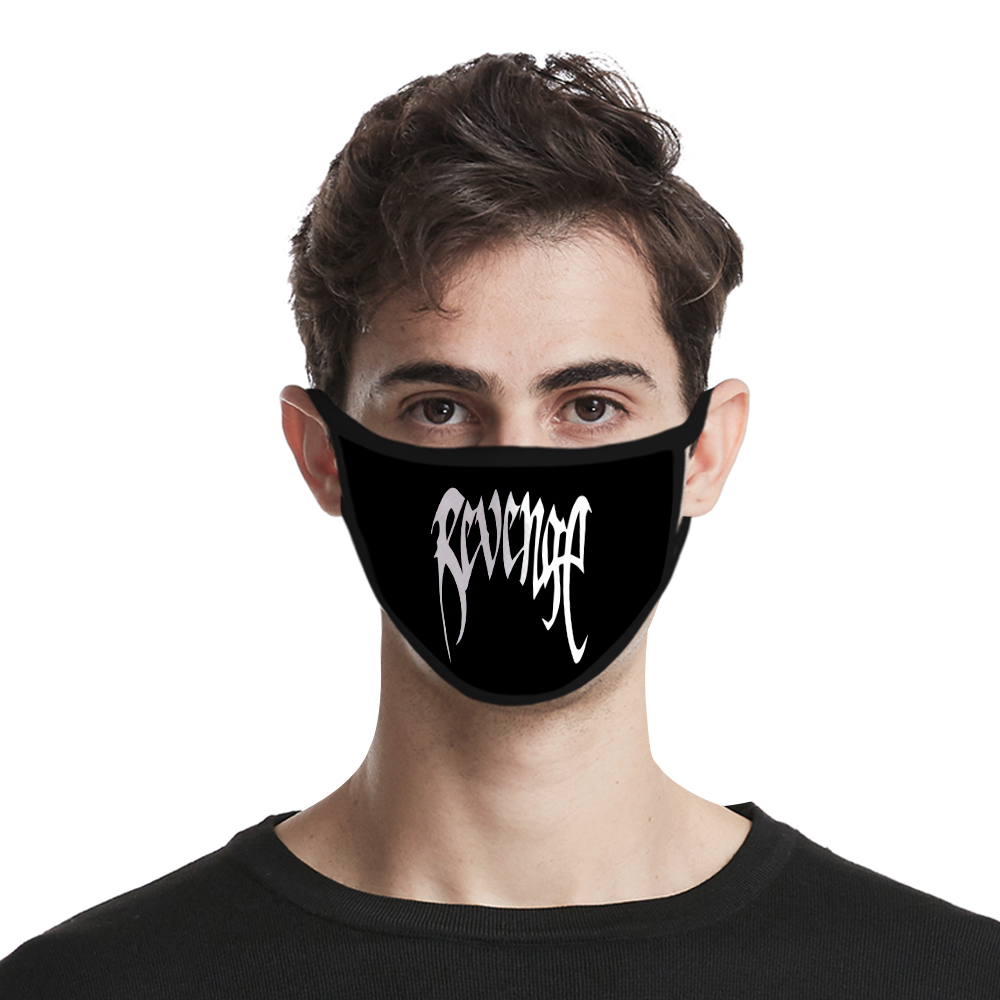 Hip Hop Style Xxxtentacion Mask Men/women Fashion Hot Harajuku High Quality Cosplay 3D Print Xxxtentacion Face Mask