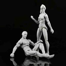 Anime Archetype He She Ferrite Figma Movable Body Feminino Kun Body Chan Pvc Action Figure Model Toys Doll For Collectible цена