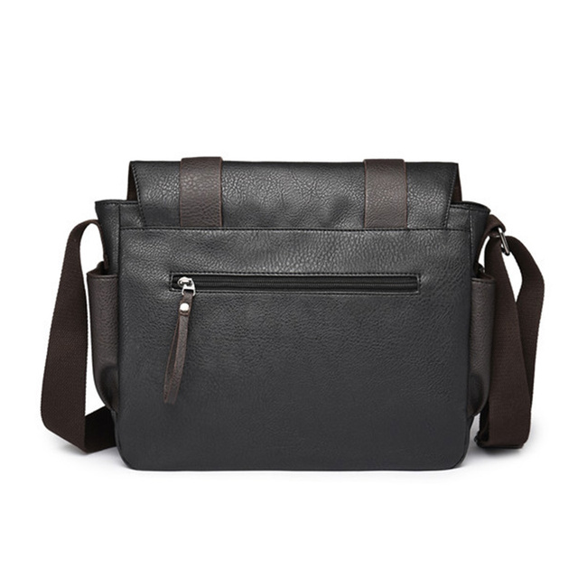 2018 Casual männer Schulter Tasche PU Leder Männlichen Messenger Taschen für Männer Laptop Tasche Umhängetasche Reise Business Marke aktentaschen