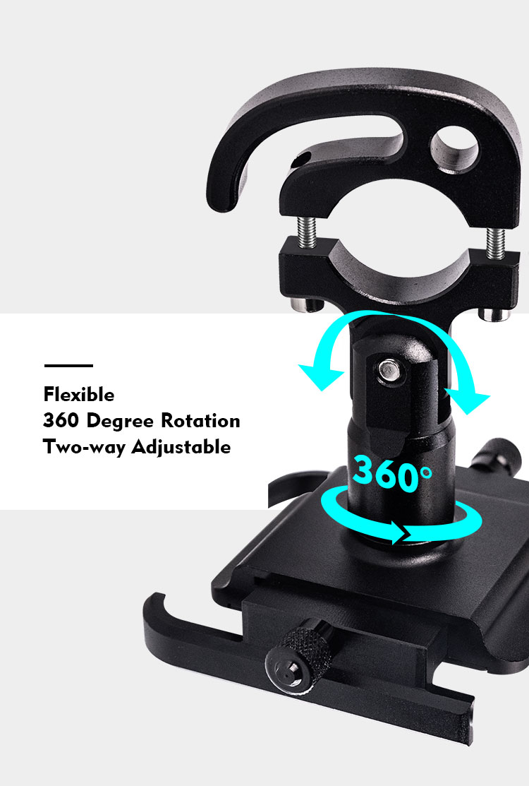 Motorcycle Mobile Phone Holder Suitable for Bicycles/Motorcycles/Electric Vehicles/Scooters 16