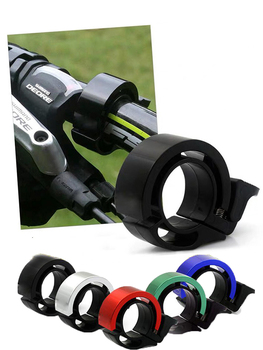 Bicycle Bell Ring Handlebar Metal Ring Bicycle Accessories Horn Sound Alarm Bulk Bicycle Bell  Bike Siren Novelty Bicycle Bell bicycle bike handlebar ball air horn trumpet ring bell loudspeaker noise maker free shipping