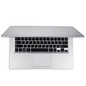 14 Inch 1080P Laptop 2GB RAM 32GB EMMC Atom Z8350 Quad Core CPU Windows 10 System Notebook Computer(EU Plug)