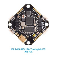 BETAFPV Toothpick F4 2 4S AIO Brushless Flight Controller BLHELI_S 12A ESC No RX OSD Smart Audio with XT30 Cable for Toothpick