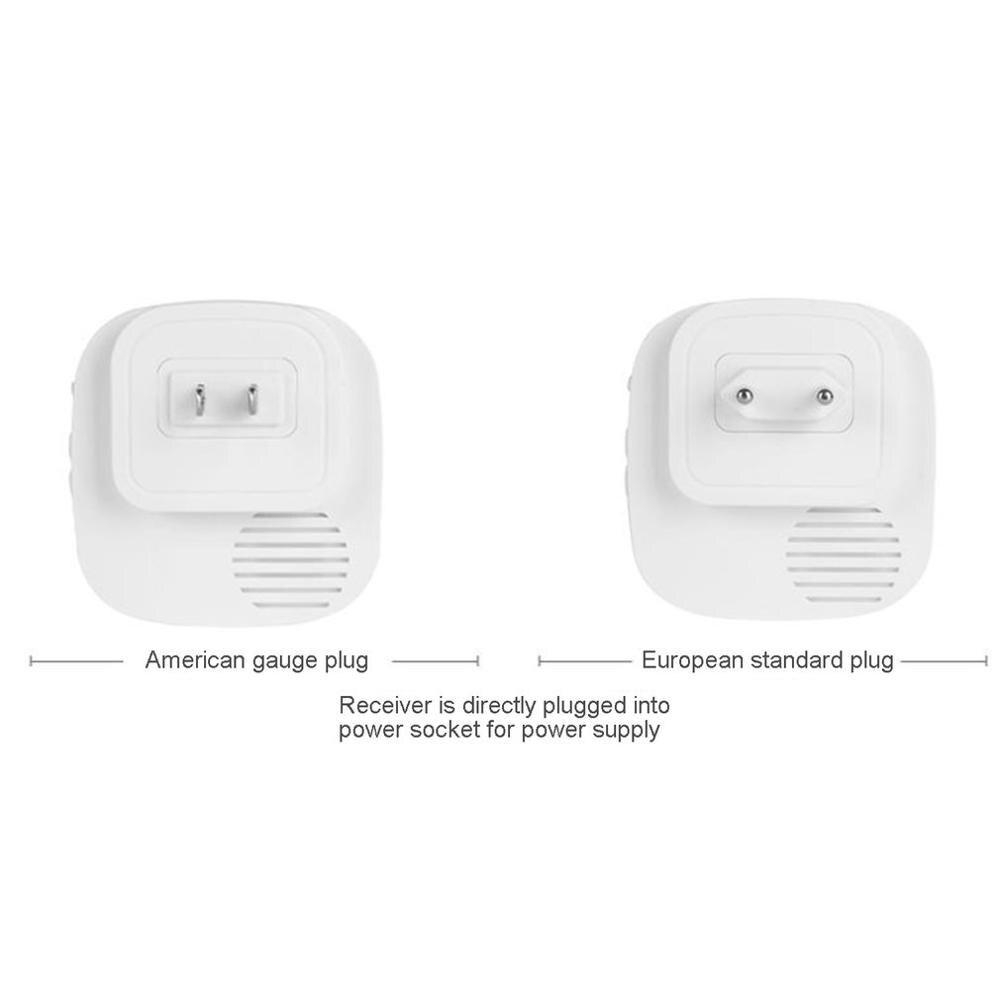 Motion Sensor Detection Alarm Wireless Home Safety Drive Alarm With Sensor Receiver 38 Ringtone Tuners LED Indicator