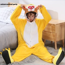 Kigurumi halloween Christmas men women Cosplay Sun Wukong monkey Onesies Party Pajamas Pyjamas costumes carnival costume