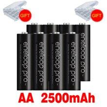 Оригинальная батарея Pro AA 2500mAh 1,2 V Ni-MH для Panasonic Eneloop камера игрушка-фонарик предварительно заряженные аккумуляторы