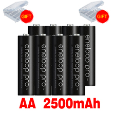 Oryginalna bateria Pro AA 2500mAh 1 2V NI-MH do latarka kamery zabawki wstępnie naładowany akumulator baterie tanie tanio Okoman BK-3HCCA 4BW Baterie Tylko Pakiet 1 2-20