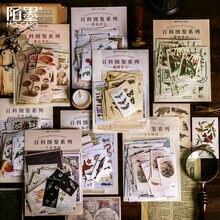 60 шт/упак vintaage стикер для канцелярских товаров Скрапбукинг