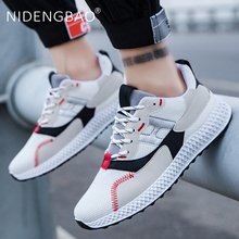 High Quality Outdoor Running Shoes Men Sport Breathable Sneakers Light Lace Up Walking Shoes Zapatillas Hombre Gym Shoes Men men casual shoes lace up mens trainers flat walking shoes breathable sport zapatillas hombre basket femme light soft brand shoe