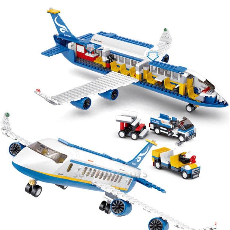 blocos de construção conjuntos aviões aviões diy