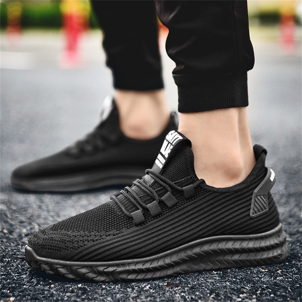 Summer Men's Breathable Casual Sports Shoes Lightweight Casual Athletic Sports Running Shoes Outdoor Sport Shoes Men Sneakers