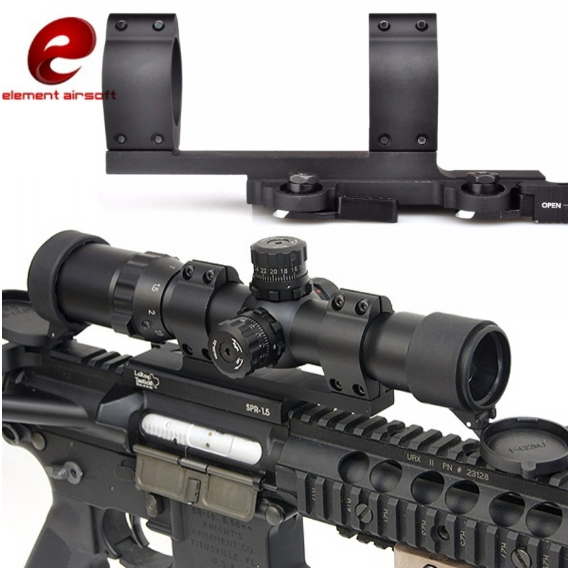 Element Airsoft SPR-1.5 Scope Mount 30mm Softair Tactical Picatinny Rail 20mm Air Rifle Hunting Accessories EX033