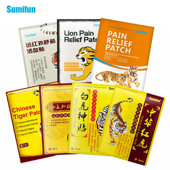 Sumifun 8Pcs of 7 Different Types Tiger Balm Plaster Joint Arthritic Body Pain Relieving Pain Relief Patch Medical Ointment 8pcs bag sumifun tiger balm chinese herbs medical plaster joint pain back neck curative plaster massage medical patch c1568