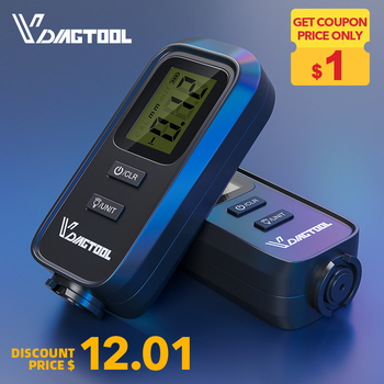 VDIAGTOOL VC100 Car Thickness Gauge Meter Digital Paint Films For Car Paint Tester LCD Backlight Thickness Coating Meter