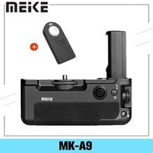 Meike MK A9 Batterij Grip Controle Schieten Verticale Schieten Functie Voor Sony A9 A7III A73 A7M3 A7RIII A7R3 Camera + es Ir Remote