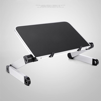 Mini Laptop Stand Lap Desk for Bed Couch Folding Adjustable Multifunctional Ergonomic Height 360 Degree Angle - discount item  12% OFF Office Furniture