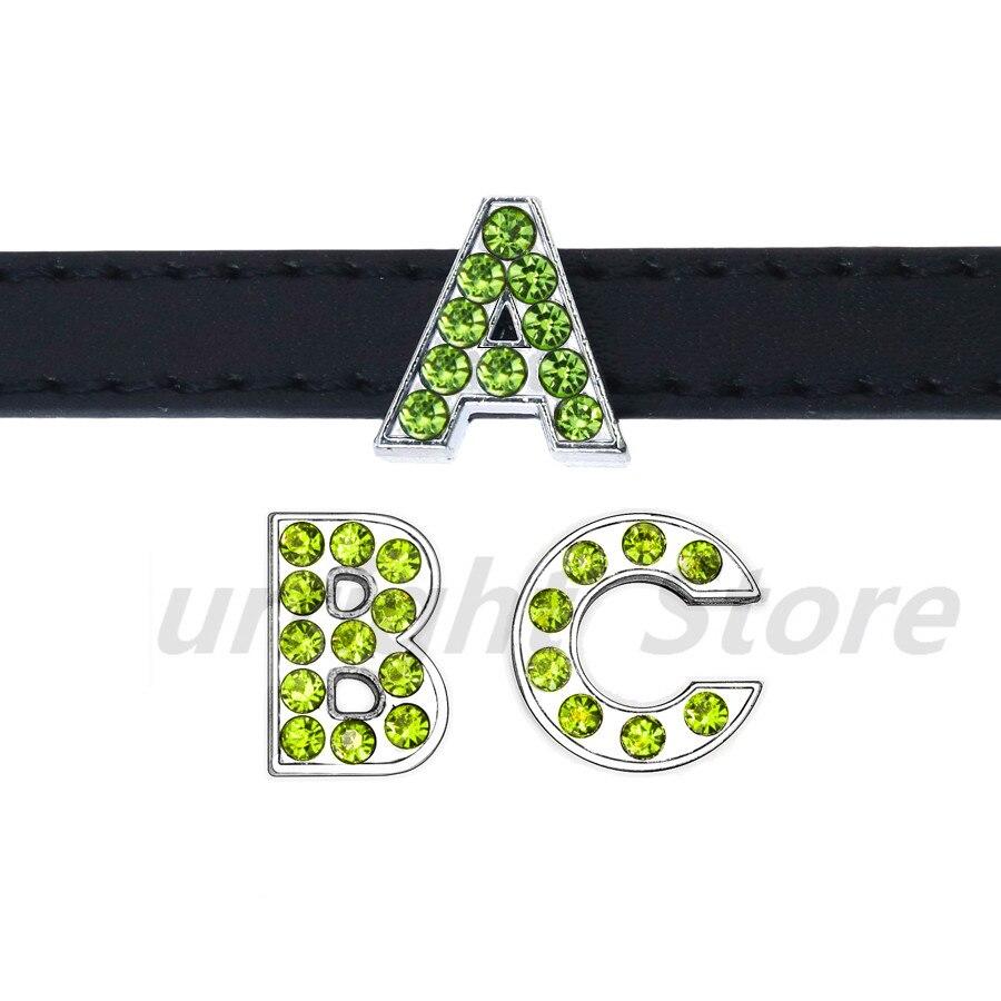 8mm-铬色橄榄色钻-字母穿戴-穿过主图_副本