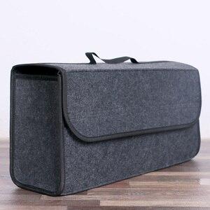 Car Boot Organizer Large Carpet Storage Bag Tools Travel Tidy Hook Loop Case(China)