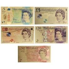 Atacado united kindom dinheiro falso notas de ouro prop papel de dinheiro gbp preços do euro notas de banco presentes para homem dropshipping