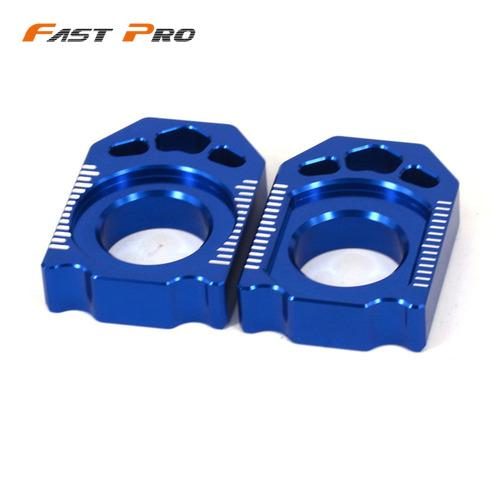 Motorcycle CNC Rear Chain Adjuster Axle Block For YAMAHA YZ125 YZ250 YZ250F YZ450F YZ250X YZ250FX WR250F WR450F WR250R WR250X(China)