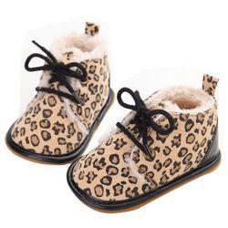 2020, zapatos con cordones para niños y niñas recién nacidos, primeros caminantes, zapatos cálidos para bebé de otoño e invierno