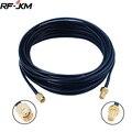 RP SMA Male к RP SMA Female Удлинительный кабель для WIFI антенны RF Коннектор RG174 кабель
