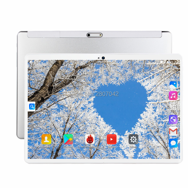2019 New 10 Inch Tablet PC Octa Core 6GB RAM 64GB ROM 1280*800 IPS 2.5D Tempered Glass 10.1 Tablets Android 9.0+Gifts