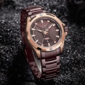 Image 5 - Top Naviforce Heren Horloge Merk Luxe Mode Quartz Mannen Horloges Waterdichte Sport Mannelijke Militaire Polshorloge Relogio Masculino