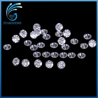1ct/pack Small Size 1.1mm EF White color VVS Moissanite Round Brilliant Moissanites Loose Stone for Jewelry making