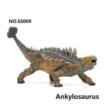 цена на Plastic Simulation Wild Animal Model Jurassic World Ankylosaurus Jurassic Collection Toys Action Figure Dinosaur Child Gift