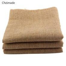 Lychee life saco de tecido de linho, 160x50cm, para trabalho manual, decoração de casa, natal