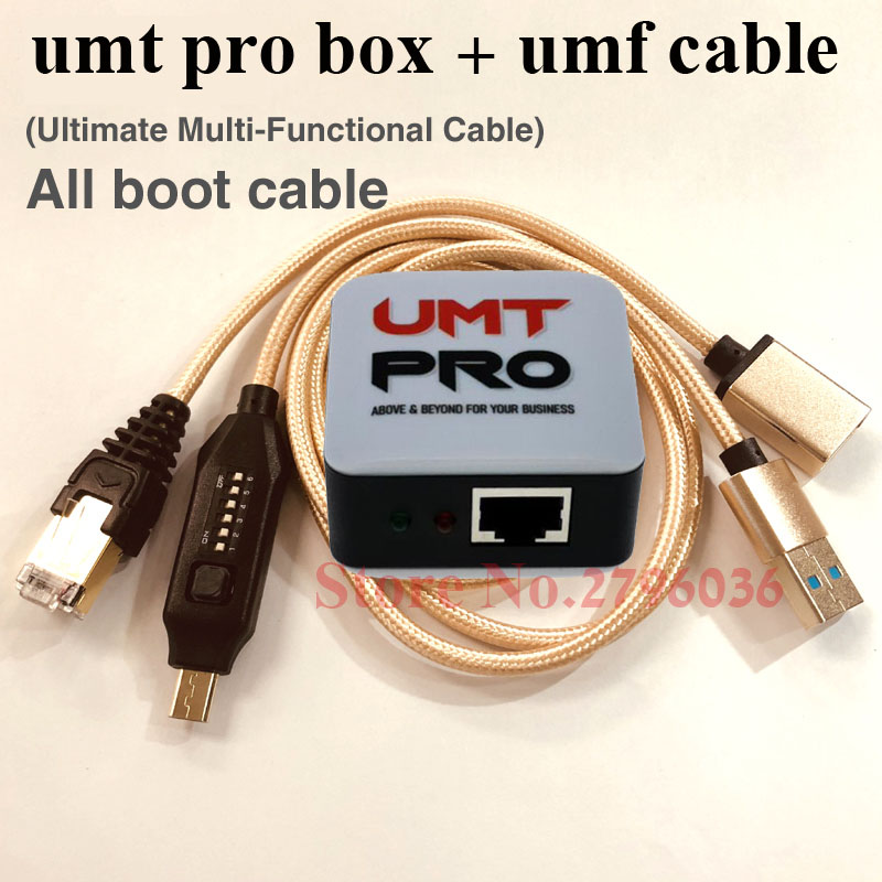 2020 Latest Original  UMT Pro 2 Box ( UMT BOX + AVB  BOX ) 2 IN 1 + UMF All Boot Cable