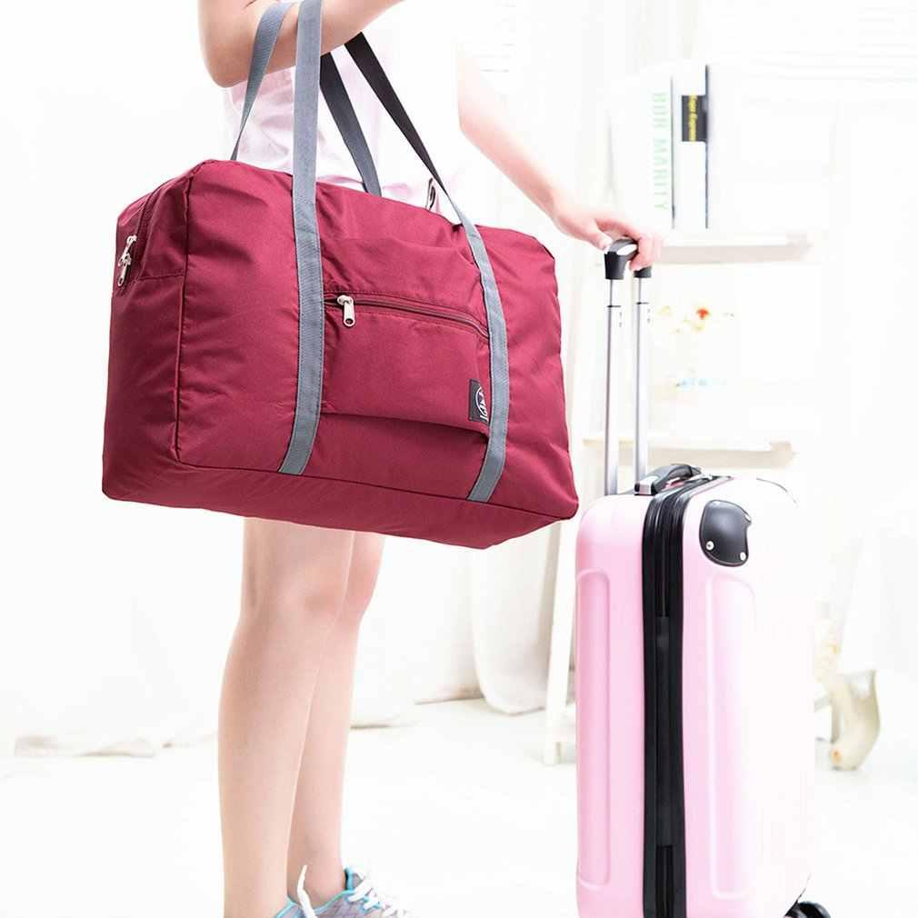 Large-Capacity Travel Baggage Storage Bag Foldable Travel Bag Clothes Sorting Bag Outdoor Travel Storage Bag
