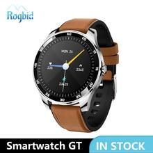 Rogbid Smartwatch GT Neue 2020 Touch Smart Uhren Männer Wasserdicht mit Metall Rahmen Schlaf Fitness Tracker Uhr Für Android IOS