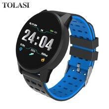купить Smartwatch smart watch reloj inteligente relogio Blood Pressure Waterproof Activit Sport watches montre relogios android дешево