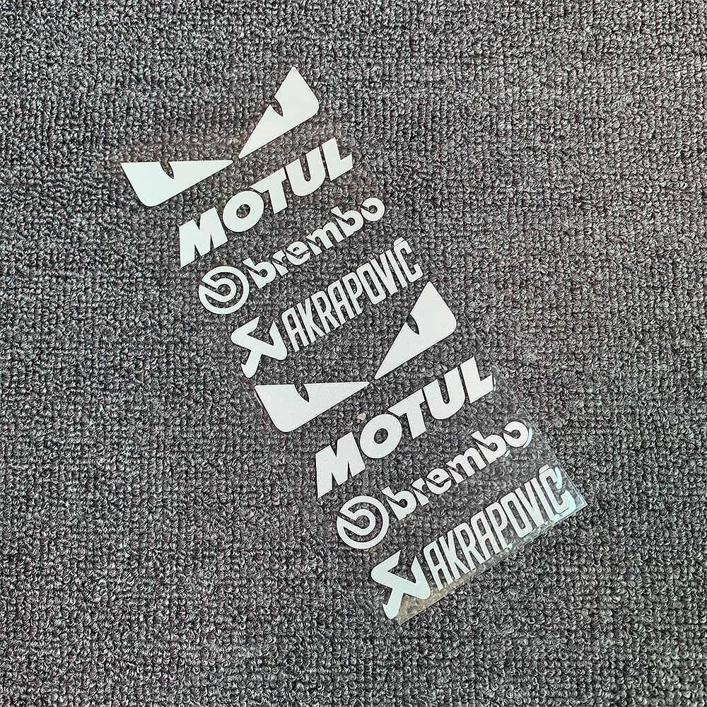 1 takım yansıtıcı motosiklet yan şerit bisiklet kask Sticker araba Styling vinil çıkartması için YAMAHA Honda KTM Kawasaki yeni varış