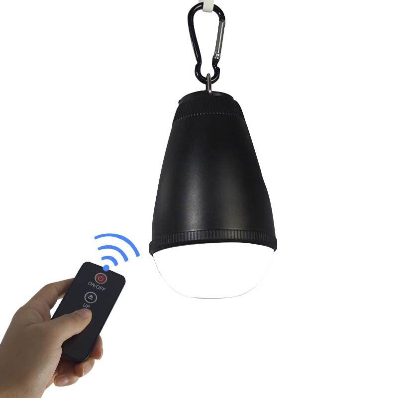 Mini kamp lambası yeni stil küçük gece lambası su geçirmez kamp ışıkları uzaktan kumanda LED kanca çadır ışığı