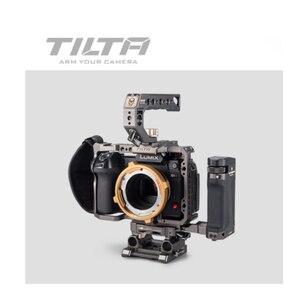 Image 5 - Tilta Panasonic LUMIX S1H/S1/S1R Camra käfig zubehör volle käfig top griff grundplatte rekord kabel HDMI Kabel TA T38 FCC G