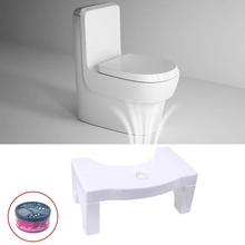 Squatty Toilet Squatty Step Stool Children Adult footstool Non Slip Potty toilet stool With fragrance M25 21 Dropshipping